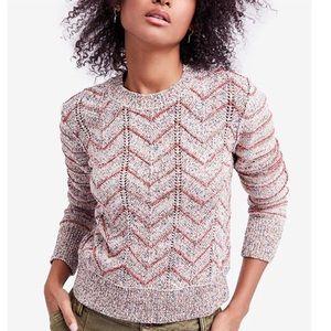 NWT Free People Zig Zag Sweater XS
